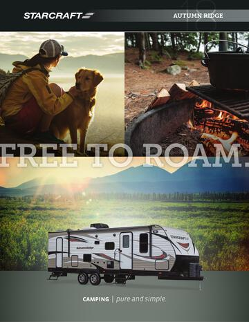 2018 Starcraft Autumn Ridge Travel Trailer Brochure