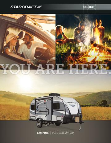 2018 Starcraft Comet Travel Trailer Brochure