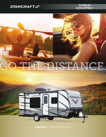 2018 Starcraft Launch Outfitter 7 Travel Trailer Brochure