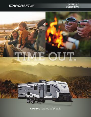 2018 Starcraft Launch Ultra Lite Travel Trailer Brochure