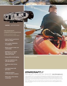 2018 Starcraft Solstice Fifth Wheel Brochure page 4