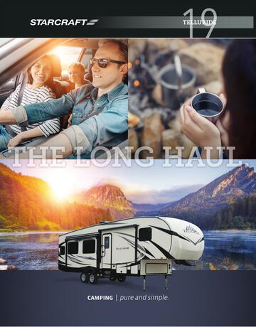 2018 Starcraft Telluride Fifth Wheel Brochure