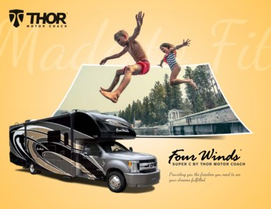 2018 Thor Four Winds Super C Brochure page 1