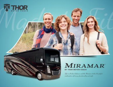 2018 Thor Miramar Brochure page 1