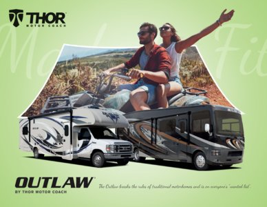 2018 Thor Outlaw Brochure page 1