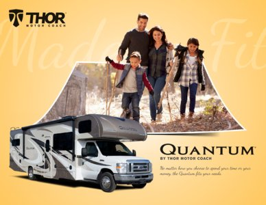 2018 Thor Quantum Brochure page 1