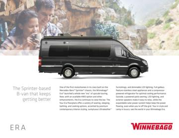 2018 Winnebago Era Brochure