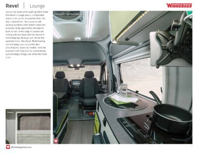 2018 Winnebago Revel Brochure page 3