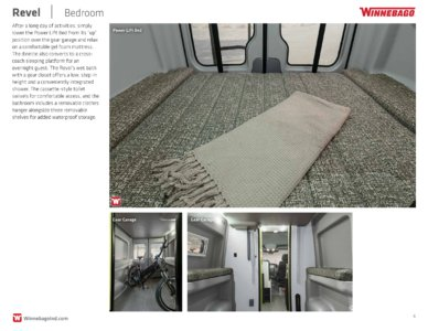 2018 Winnebago Revel Brochure page 6