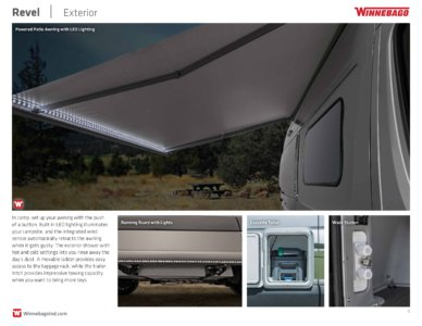 2018 Winnebago Revel Brochure page 9