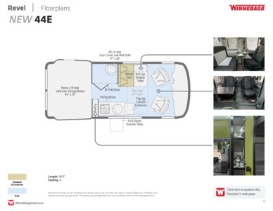 2018 Winnebago Revel Brochure page 11