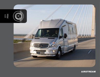 2019 Airstream Atlas Touring Coach Brochure page 1