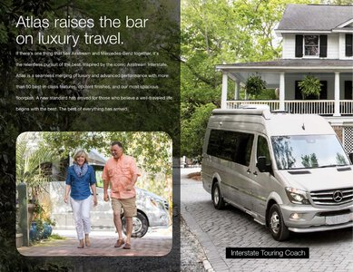 2019 Airstream Atlas Touring Coach Brochure page 2