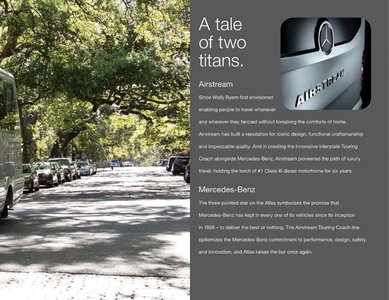2019 Airstream Atlas Touring Coach Brochure page 5