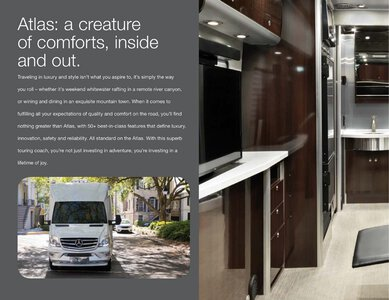 2019 Airstream Atlas Touring Coach Brochure page 6