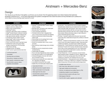 2019 Airstream Atlas Touring Coach Brochure page 15