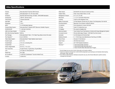 2019 Airstream Atlas Touring Coach Brochure page 20