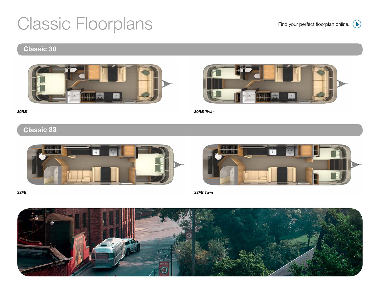 2019 Airstream Classic Travel Trailer Brochure | Download RV