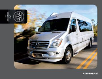 2019 Airstream Interstate Grand Tour EXT Touring Coach Brochure
