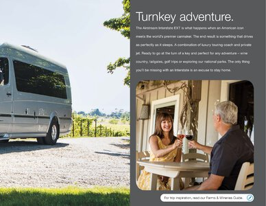 2019 Airstream Interstate Grand Tour Ext Touring Coach Brochure page 3