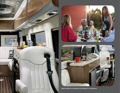 2019 Airstream Interstate Grand Tour Ext Touring Coach Brochure page 9