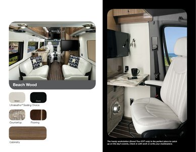 2019 Airstream Interstate Grand Tour Ext Touring Coach Brochure page 19
