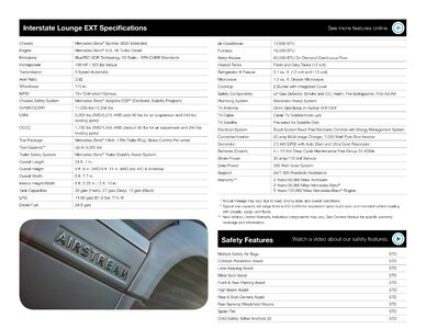 2019 Airstream Interstate Grand Tour Ext Touring Coach Brochure page 20