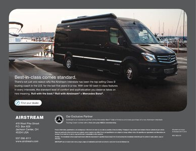 2019 Airstream Interstate Grand Tour Ext Touring Coach Brochure page 24