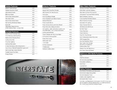 2019 Airstream Interstate Grand Tour Ext Touring Coach Brochure page 39
