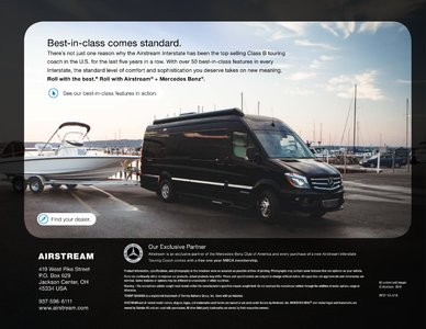 2019 Airstream Interstate Grand Tour Ext Touring Coach Brochure page 40