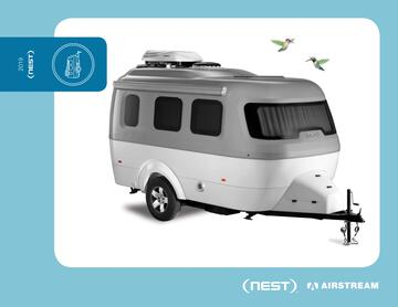 2019 Airstream Nest Travel Trailer Brochure