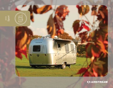 2019 Airstream Sport Travel Trailer Brochure page 1