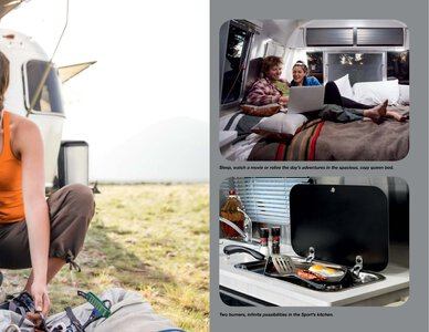 2019 Airstream Sport Travel Trailer Brochure page 11