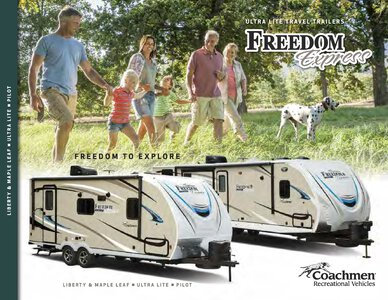 2019 Coachmen Freedom Express Brochure page 1