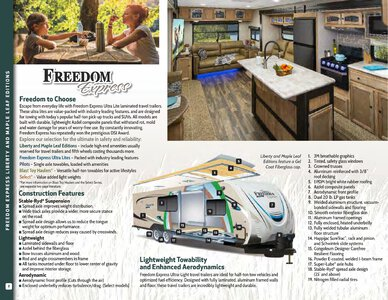 2019 Coachmen Freedom Express Brochure page 2