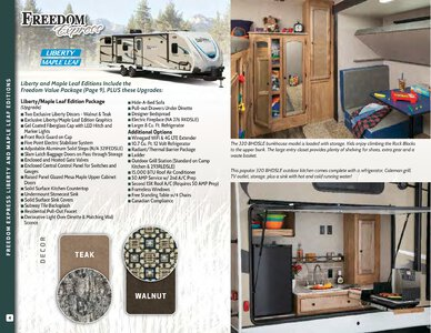 2019 Coachmen Freedom Express Brochure page 4