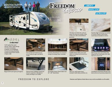 2019 Coachmen Freedom Express Brochure page 6
