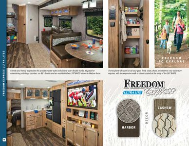 2019 Coachmen Freedom Express Brochure page 10
