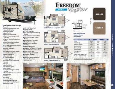 2019 Coachmen Freedom Express Brochure page 11
