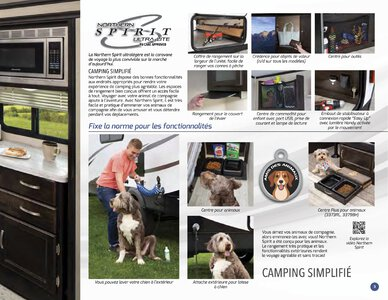 2019 Coachmen Northern Spirit French Brochure page 3