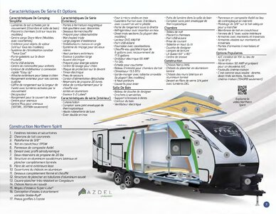 2019 Coachmen Northern Spirit French Brochure page 7
