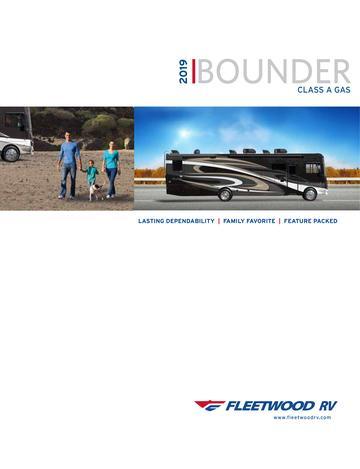 Fleetwood RV Brochures, Floorplans And Catalogs | Download