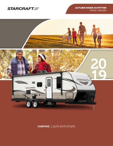 2019 Starcraft Autumn Ridge Outfitter Travel Trailer Brochure
