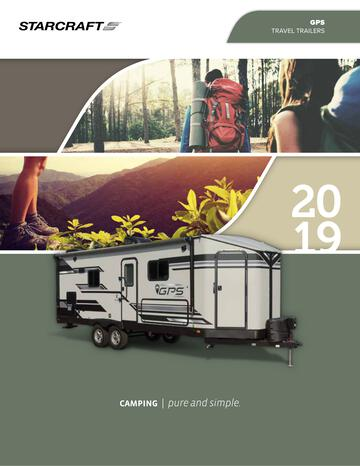 2019 Starcraft GPS Travel Trailer Brochure