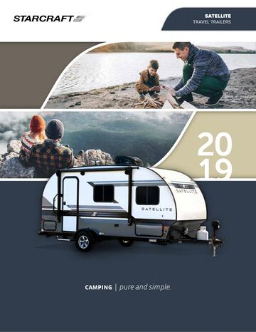 2019 Starcraft Satellite Travel Trailer Brochure