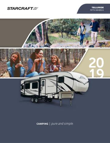 2019 Starcraft Telluride Fifth Wheel Brochure