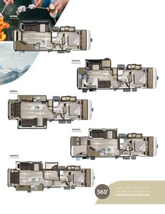 2019 Starcraft Telluride Fifth Wheel Brochure page 3