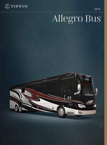 View Tiffin Allegro Bus Brochures   Download RV brochures