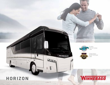 2019 Winnebago Horizon Brochure page 1