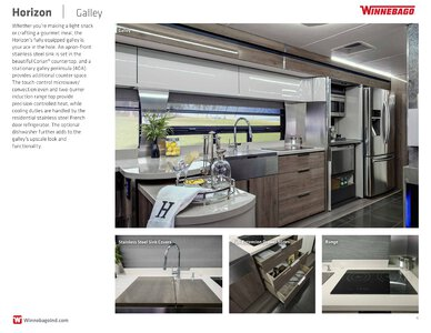 2019 Winnebago Horizon Brochure page 4